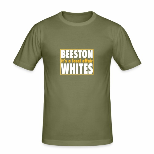 BEESTON WHITES IT'S A LOCAL AFFAIR - Men's Slim Fit T-Shirt