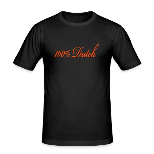 100% Dutch - slim fit T-shirt