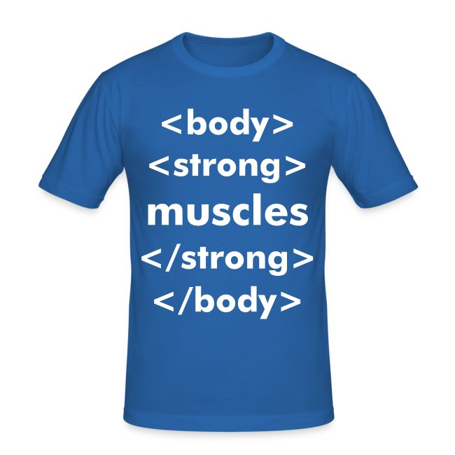 strong muscles html