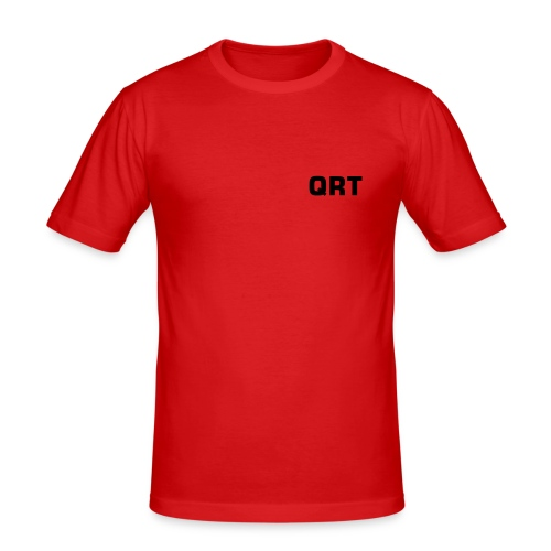 QRT T-shirt - Slim Fit T-shirt herr