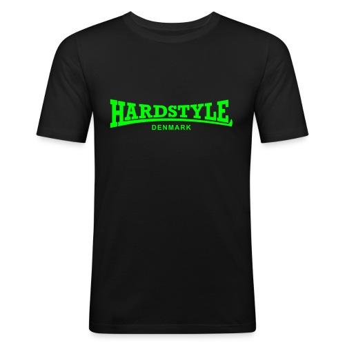 Hardstyle Denmark - Neongreen - Men's Slim Fit T-Shirt