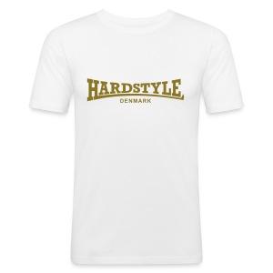 Hardstyle Denmark - Gold - Men's Slim Fit T-Shirt