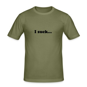 I suck less than the rest. Boys - Männer Slim Fit T-Shirt