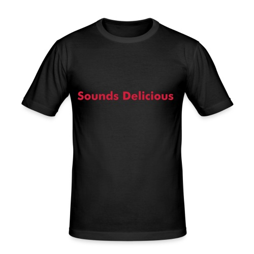 Delicious Sounds - Men's Slim Fit T-Shirt