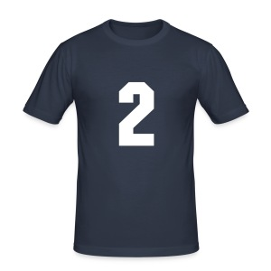 2 - Männer Slim Fit T-Shirt