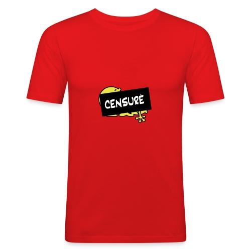 Censuré ! [DD] - T-shirt près du corps Homme