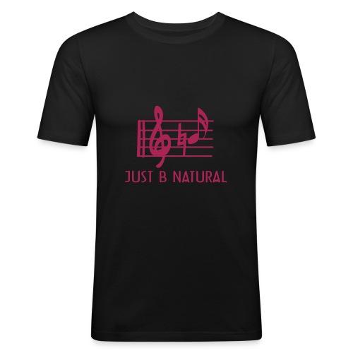 B natural - Men's Slim Fit T-Shirt