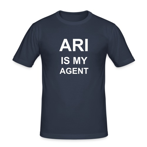 Ariismyagent - Men's Slim Fit T-Shirt