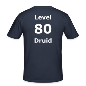 Wow 80 Druid Tee - Men's Slim Fit T-Shirt