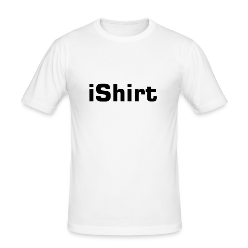 iShirt - Slim Fit T-skjorte for menn