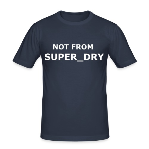 Nt from Super_dry - Men's Slim Fit T-Shirt
