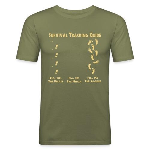 Survival Guide - Slim Fit T-shirt herr