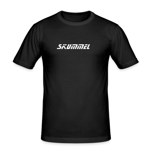 Skummel T-skjorte - Slim Fit T-skjorte for menn