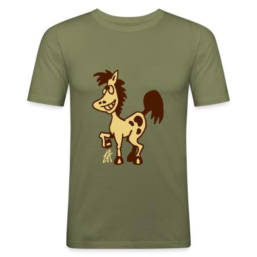 Horse - Men's Slim Fit T-Shirt