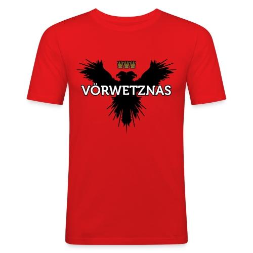 Voerwetznas1 - Männer Slim Fit T-Shirt