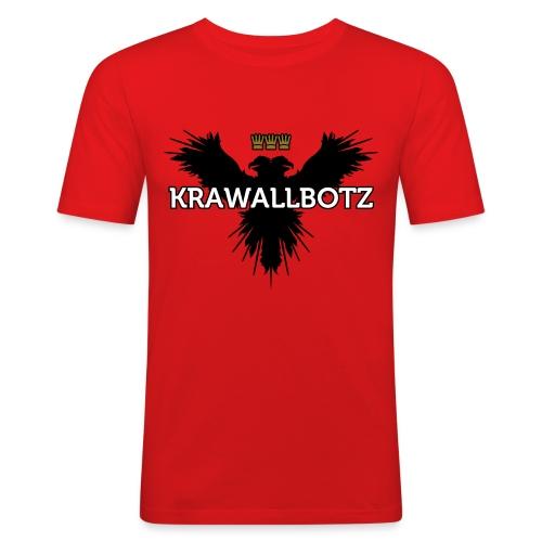 Krawallbotz - Männer Slim Fit T-Shirt