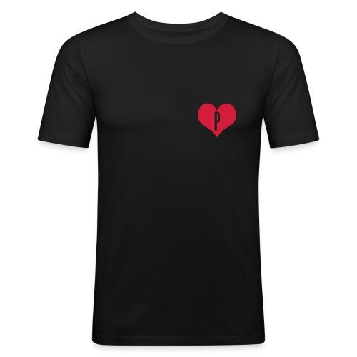 LOVE P... - T-shirt près du corps Homme