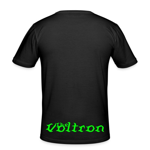 The Voltron Black/Green - Men's Slim Fit T-Shirt
