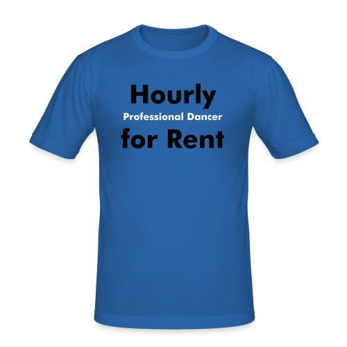 Hourly for Rent - Männer Slim Fit T-Shirt