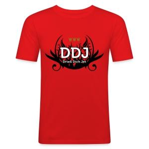 DDJ (Drieß Dich Jet) - Männer Slim Fit T-Shirt