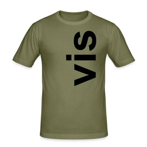 VISSHIRT - slim fit T-shirt