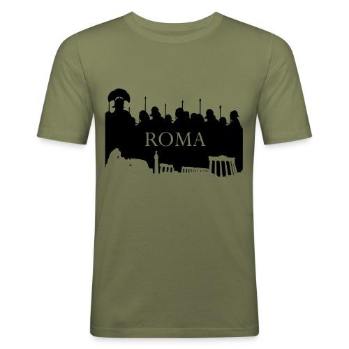 Camiseta Hombre Ajustada Basis Roma - Camiseta ajustada hombre