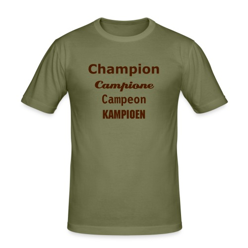 Champion campione campeon kampioen - slim fit T-shirt