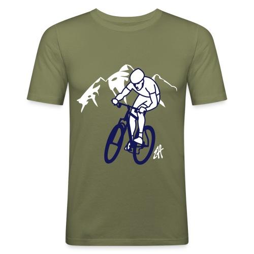 Mountainbike - Men's Slim Fit T-Shirt
