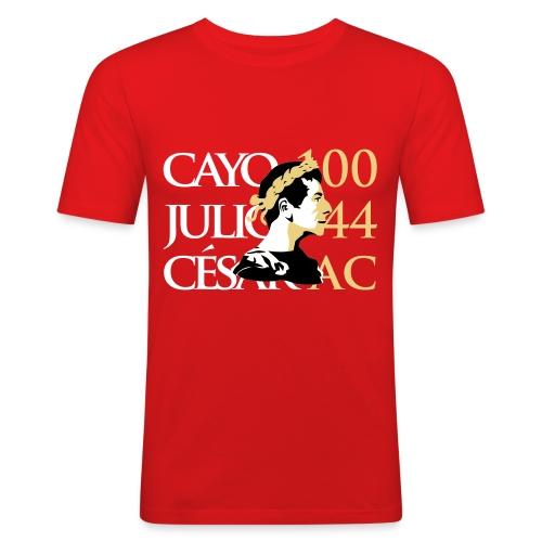 Camiseta Hombre Ajustada Cayo Julio Cesar - Camiseta ajustada hombre