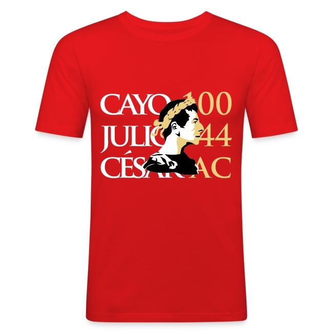 Camiseta Hombre Ajustada Cayo Julio Cesar