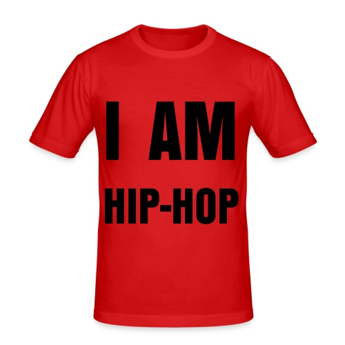 I am hip-hip - Herre Slim Fit T-Shirt
