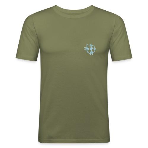 10Line-MenShirt - Männer Slim Fit T-Shirt