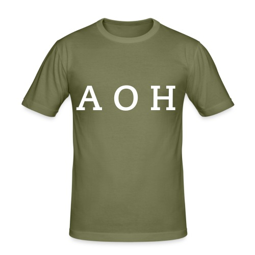 AOH - T-shirt - Slim Fit T-shirt herr