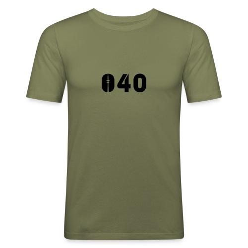040 SHIRT - Männer Slim Fit T-Shirt