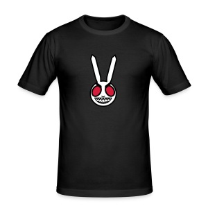 Evil Bunny: Men's Fitted Tee - Men's Slim Fit T-Shirt