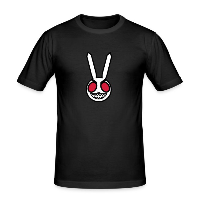 Evil Bunny: Men's Fitted Tee