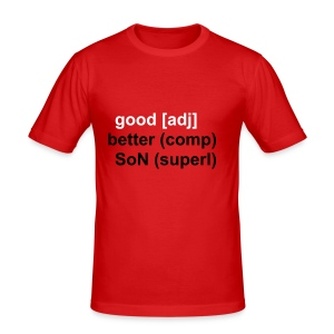 good, better, SoN - Männer Slim Fit T-Shirt