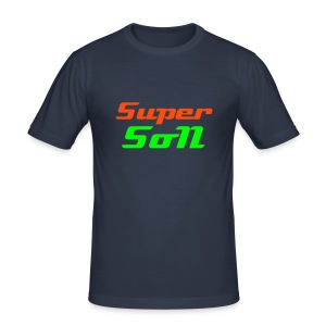 Super SoN - Männer Slim Fit T-Shirt