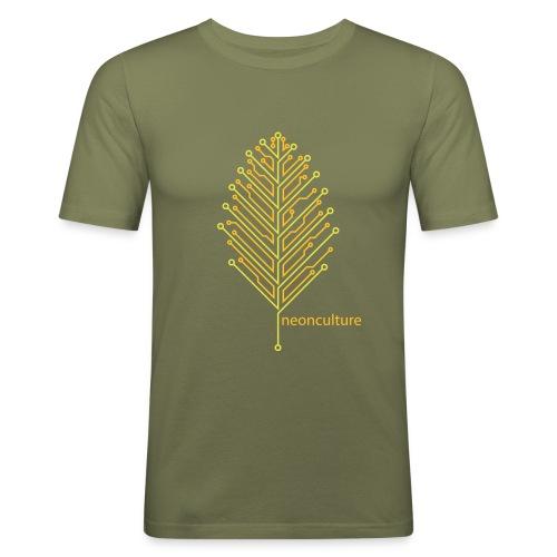 eLeaf - Slim Fit Men - Männer Slim Fit T-Shirt