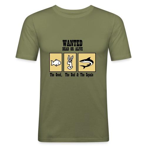 Squale Wanted - T-shirt près du corps Homme