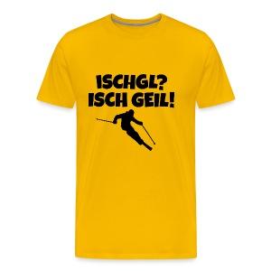 Ischgl Isch Geil T-Shirt für Skifahrer - Männer Premium T-Shirt