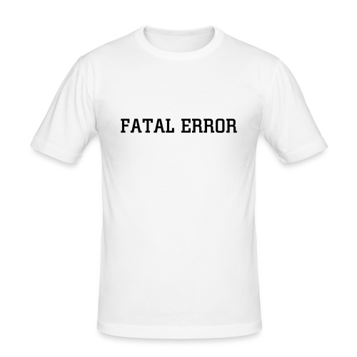 Error Shirt - Männer Slim Fit T-Shirt