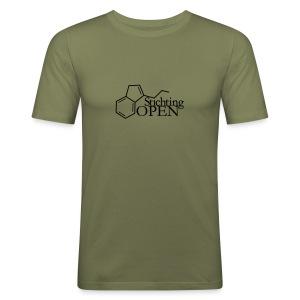 Stichting Open Mannen - slim fit T-shirt