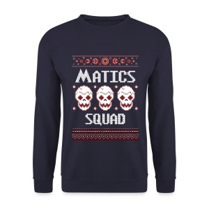 Ugly Christmas Sweater MATICS SQUAD - MEN - Männer Pullover