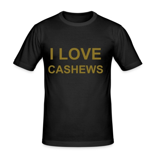Cashews MÄNNER - Männer Slim Fit T-Shirt