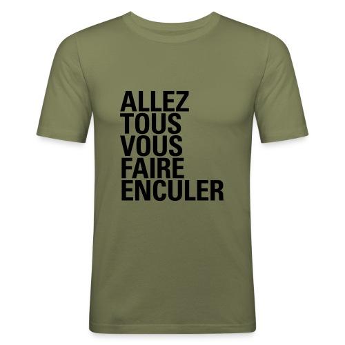 GROS MOTS - T-shirt près du corps Homme
