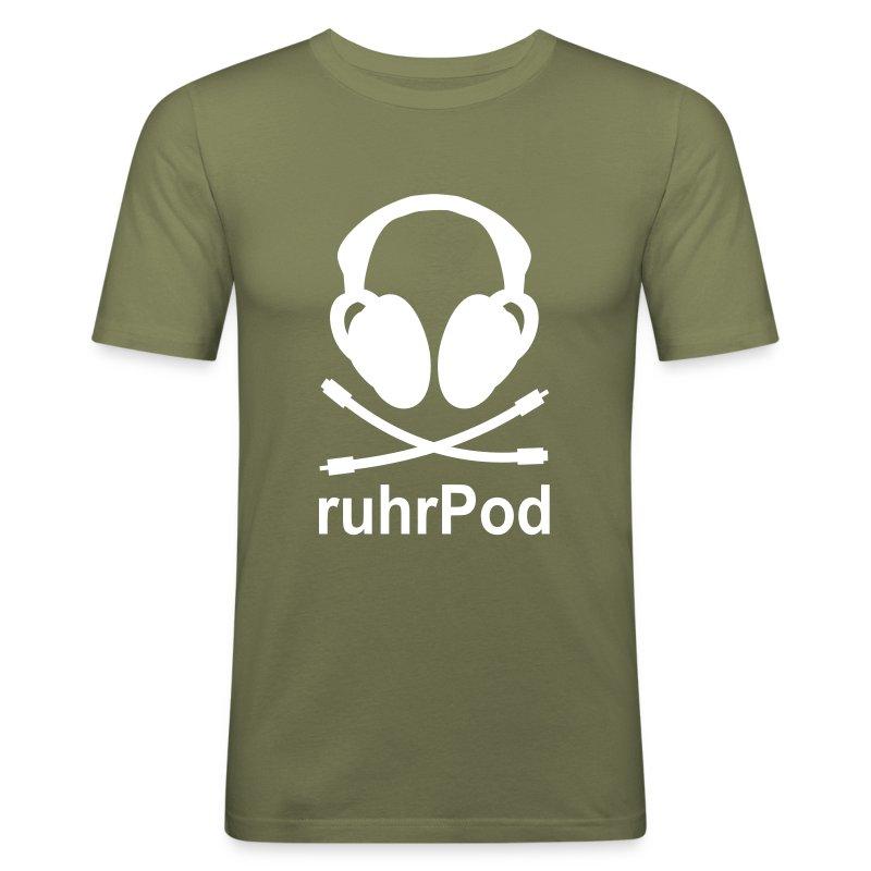 ruhrPod - Männer Slim Fit T-Shirt