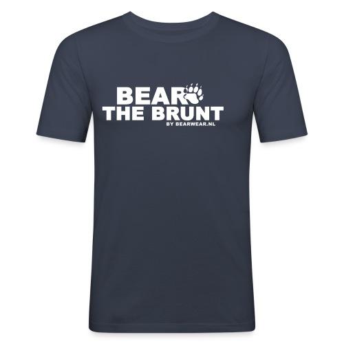 Bear The Brunt - Men's Slim Fit T-Shirt
