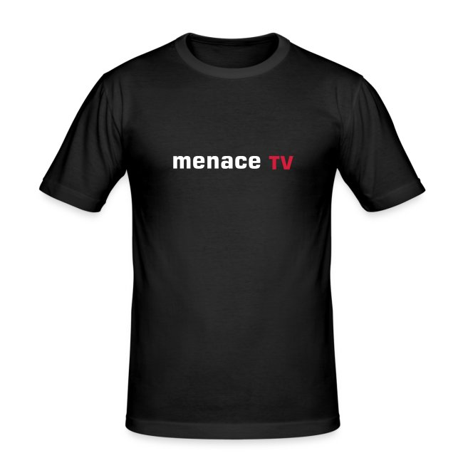 Menace TV heart - noir - homme