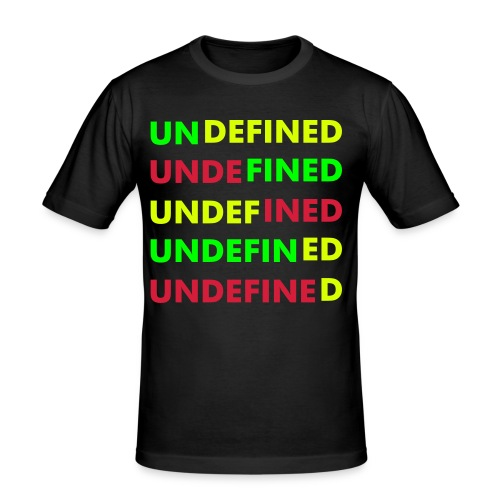 Undefined Tricolor - slim fit T-shirt